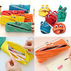 Creative Cute Stationery Pencil Case Cosmetic Makeup Bags Zipper Pouch Purse UK