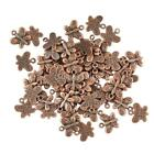 50x DIY Butterfly Pendants Created for you Charms Necklace Jewellery Making