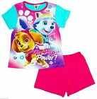 Infant Babies Girls Paw Patrol Short Pyjamas Pyjamas Nickelodeon