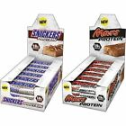 Mars & Snickers Protein Bar Box of 18 Over 18 Grams Protein per Bar