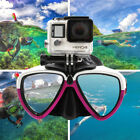 Camera Mount Diving Mask Scuba Snorkel Swimming Goggles Glasses fits For GoPro