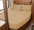 Lunar Roadstar 780 Motorhome Fitted Sheet - Ivory, White, Walnut Whip