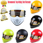 For Bandit Street Racing Motorcycle ATV Adult Helmet FullFace DOT Approved S-XXL