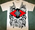 Seditionaries PUNK GANG Anarchist T-shirt Sex Pistols Punk Create Hell Tee