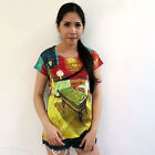ATMZ Vincent Van Gogh The Night Cafe Lady Top Tee T-Shirt All Over Art Print