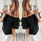 Fashion Women Summer Tops Loose Tee Short Sleeve T Shirt Casual Blouse Tops New