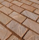Natural Indian Sandstone Cobbles - Lalitpur Yellow (Variations of Packs & Sizes)