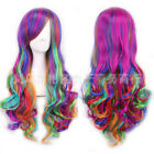 "Lady 31"" Long Curly Wigs Fashion Cosplay Costume Hair Anime Full Wavy Party Wig"