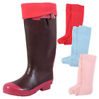 New Insulated Wellington Boots Socks Wellie Boot Liners Thermal Sokket 3-12 uk