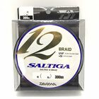 DAIWA SALTIGA 12 BRAID 300m Super Braided Line Select LB Free Shipping