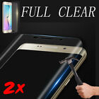 2X For Samsung Galaxy S8 S9Plus Note 8 HD Clear Full Coverage Screen Protector