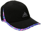 adidas Women's Men's Adizero II Cap Hat Shadow Sport Mesh Black UPF50 Adjustable