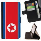 WORLD COUNTRY FLAG WALLET CASE COVER FOR SAMSUNG GALAXY S7