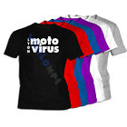 Camiseta Moto Virus XXL- XL- L- M- S Sizes 01 Motor Lyon T-Shirt Tee
