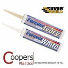 Silicone - Forever White or Ivory - Everbuild Anti-Mould Sealant inc Steritouch