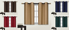 black panels - 2 PANELS Bedroom Half Window Curtain & KITCHEN WINDOW TIER 36