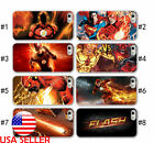 The Flash Comic Hero IPhone X 6 7 8 Plus Phone TPU Soft Clear Black case Movie#2
