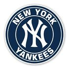 New York Yankees  Round  Decal / Sticker Die cut on Ebay