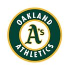 Oakland Athletics Round Decal / Sticker Die cut on Ebay