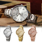 Fashion Ladies Dress Watch Stainless Steel Band Quartz Analog Women Wrist Watch