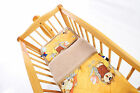 Baby Bed Cot 3-teilig Upper Bed under Bed Pillow -kamel Or Cashmere