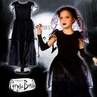 Witch Costume Vampire Child  Cosplay Dress Ghost Cemetery Bride Halloween