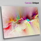 AB1404 red pink modern Abstract Wall Art Picture Large Canvas Print