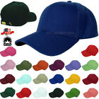 Plain Solid Washed Cotton Polo Style Baseball Ball Cap Caps Hat Adjustable