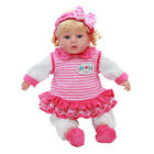 Baby Doll Soft Bodied Baby Dolls Girls Fashion Dolls With Sound And Accessories