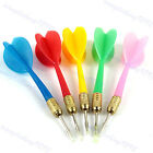 Внешний вид - 5Pc Plastic Wing Darts Color Needle Kids Tone Dart Steel Brass Throwing Tip Toy