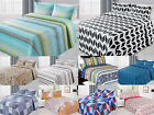 3 Piece Reversible Quilted Printed Bedspread Coverlet All Sizes 20 Colors!!!  image