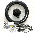 Pedalease 48v 1500W electric bike fat tyre conversion Kit LCD 26