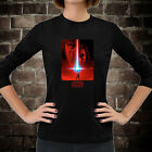 New Star Wars The Last Jedi Women Long Sleeve Dark Black T-Shirt Tee Geek Fandom