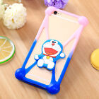 Universal 3D Cartoon Soft Elastic Silicone Phone Case Cover for Samsung iPhone