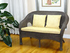 Jasmin Design Natural Handmade Rattan Loveseat Sofa ONLY LOCAL PICKUP