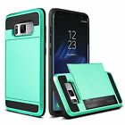 Shockproof Wallet Credit Card Holder Case Cover for Samsung Galaxy S8/+/Note8/J7