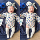 Newborn Infant Kid Baby Boy Girl Romper Bodysuit Jumpsuit Clothes Outfits Lots A
