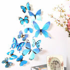 3D DIY Butterfly   Home Room Decor Wall Stickers 12 Pcs  Uk Stock.Fast dispatch