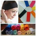 Women Men Sport Sweat Sweatband Headband Yoga Gym Hairband *