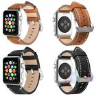 Genuine Leather Band Single Tour Bracelet Watchband For Apple Watch 38/42mm
