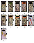 Samsung Galaxy Note 8 Case Cover Clip fits Otterbox Defender Tempered Glass Camo