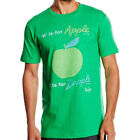 The Beatles - A Is For Apple Short Sleeve T-Shirt - New & Official Apple Corps