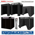 5x5 8x8 Easy Pop Up Canopy PHOTO BOOTH Commercial Tent W/...