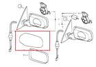 Painted or Primed BMW Left Side Mirror Cover E46 3 Series /  E39 5 Series