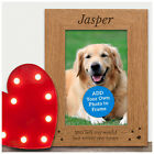 Dog Cat Pet Bereavement Personalised Photo Frame for Pet Memorial Remembrance