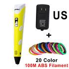 3D Pen Painting Pen+100M Filament Creative Toy Gift For Kids Design Drawing Kit