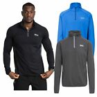 DLX Brennen DLX Mens Active Long Sleeve Top Lightweight Running Jumper