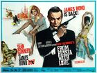 James Bond From Russia With Love Art Print/Poster Movie Film  Vintage £2.99 GBP
