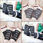Women Men Unisex Beer Socks If You Can Read This Bring Me A Glass Of Wine New