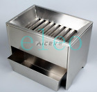 Stainless steel grain, corn, seed and wheat horizontal format riffle sampler